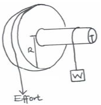 The diagram below shows a simplified hydraulic braking system of a