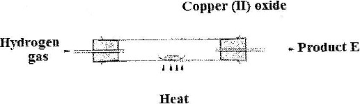 An experiment was set up as shown in the diagram below:
